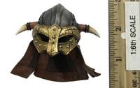 Vikings: Vanquisher (Valhalla Version) - Helmet (Horned) (Metal)