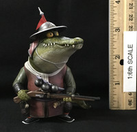 Ming Dynasty: Qi Troop Guard Leader  - Crocodile Musketeer Figurine
