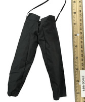 Ming Dynasty: Qi Troop Guard Leader  - Black Drawstring Pants