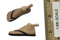 Pulp Fiction: Vincent Vega - Feet w/ Sandals (Unique Peg Joints)