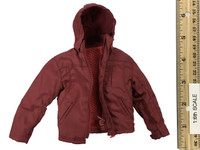 Life of Ice - Red Hooded Tech Jacket