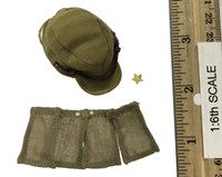 "IJA 32nd Army 24th Division ""Takuya Hayasi"" - Field Cap w/ Neck Flaps"