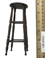 """The Prisoner"" Daisy Domergue - Tall Chair / Bar Stool (Wooden)"