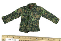 WWII German 9th Army Wehrmacht - Field Jacket (Reversable Pea Pattern))
