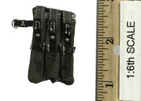 WWII German 9th Army Wehrmacht - Cloth Triple Mag Pouch (MP40)