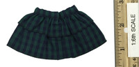 Punk Girl Costume Sets - Green Plaid Skirt