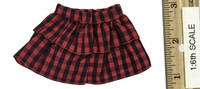 Punk Girl Costume Sets - Red Plaid Skirt