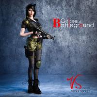 Battlefield Girl Sets - Boxed Set (Camo)