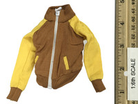 Roller Girl Character Sets - Jacket (Yellow & Brown)