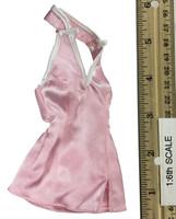 Mini Cheongsam Sets - Cheongsam / Mini Halder Dress (Pink)