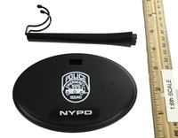 NYPD Emergency Service Unit K-9 - Display Stand