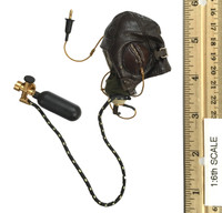 WWII Royal Air Force - RAF B-Type Flying Helmet & D-Type Oxygen Mask (See Note)