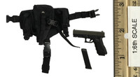 "Female Assassin First Bomb ""Catch Me"" - Pistol (G17) w/ Dropleg Holster"