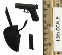 "Female Assassin First Bomb ""Catch Me"" - Pistol (G17) w/ Holster"