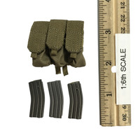 Naval Mountain Warfare Special Forces - Triple Mag Pouch w/ HK416 Ammo