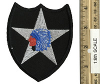 Marilyn Monroe (Military Outfit) - 2nd Infantry Division Patch (1:1 Scale)