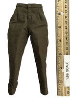 Marilyn Monroe (Military Outfit) - Olive Military Style Pants
