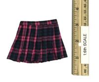 Girls School Dress Suit Sets - Skirt (Pink Plaid)