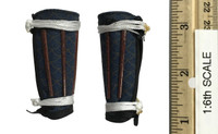 Japanese Ashigaru: Bowman (Yumi) - Leg Armor (Jambeau)