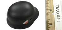 German WWII Infantry Private Set: Poland 1939 - Helmet (M35) (Metal)