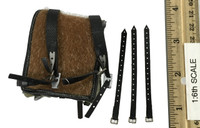 German WWII Infantry Private Set: Poland 1939 - Leather Backpack