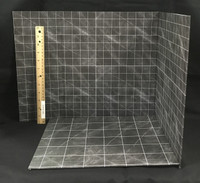 Bathroom Theme Set - Backdrop (Reversible)