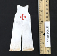 Palm Empire: Knights Templar (1/12th Scale) - White Sleeveless Robe