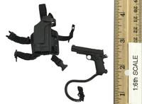 Multicam Female Hunter: War Angel Angela - Pistol (1911) w/ Dropleg Holster