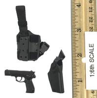 Snow Leopard Commando Unit - Team Leader - Pistol (QSZ92) w/ Holster