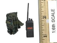 Snow Leopard Commando Unit - Team Leader - Radio w/ Pouch