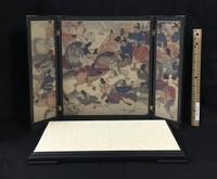 Armor of Imagawa Yoshimoto (Legend Edition) - Screen & Base (Byobu) & Stage (Wooden) (See Note)