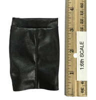 Office Lady Set - Leather Skirt