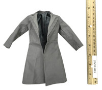 Dracula Blue - Grey Overcoat /Topcoat