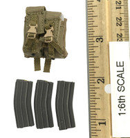 Force Recon Combat Diver (Woodland Version) - Rifle Ammo (HK416) w/ Weighted Pouch