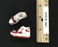 Street Dance Outfit Sets - Shoes (White) (No Ball Joints)