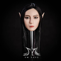 YMT-09B (Black Hair) w/ Interchangeable Ears - Boxed Set