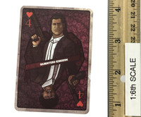 Gangster Kingdom: Heart 4 Vincent & Kerr - 1:1 Actual Playing Card