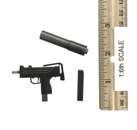 Gangster Kingdom: Heart 4 Vincent & Kerr - Machine Pistol w Silencer and Extra Mag(MAC-11)