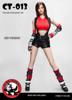 Female Character Set CT-013 Tifa - Boxed Set (CT-013A) (Red)