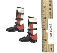 Female Character Set CT-013 Tifa - Boots (Red) (For Feet)