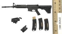 Villa Sister Flower (Police Black Python Stripe) - Rifle (M4A1)