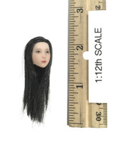 Female Seamless Body (1/12th Scale) (T01A Medium Bust Pale) - Head (No Neck Joint)