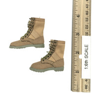 Military Female Character Set - Boots (For Feet)