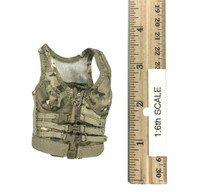 Military Female Character Set - Combat Top (Light Green)