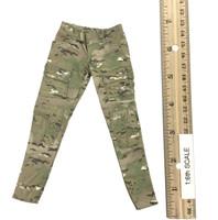 Military Female Character Set - Pants (Light Green)