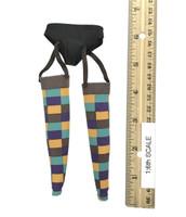Female Joker - Stockings w/ Garter Belt (Brown Tops)