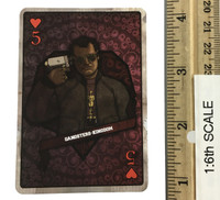 Gangster Kingdom: Heart 5 Bowen - 1:1 Actual Playing Card
