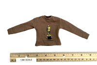 Gangster Kingdom: Heart 5 Bowen - Brown Oscar Long Sleeve T-Shirt