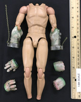 Monster Files: Frankenstein - Nude Body w/ Magnetic Hands (See Note)
