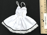Fit and Flare Dress Sets - Dress (White)